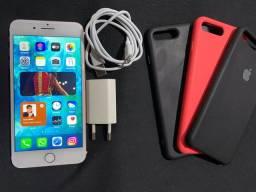 Vendo/Troco iPhone 7 Plus Rosé Gold 128gb (troco por iPhone 7 ou 7 Plus