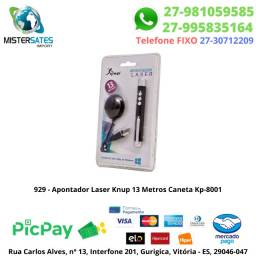 929 - Apontador Laser Knup 13 Metros Caneta Kp-8001