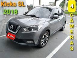 Kicks SL 1.6 CVT 2018 - Muito Novo