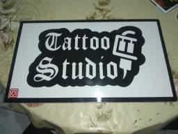 Placa para Studio de tattoo