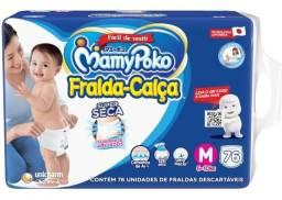 Fralda Calça Mamypoko Super Tam. M + 6 A 10kg 76 Unidades