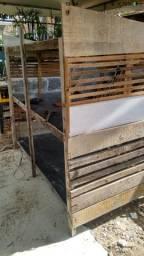 Título do anúncio: Viveiro, gaiola! tudo em madeira.