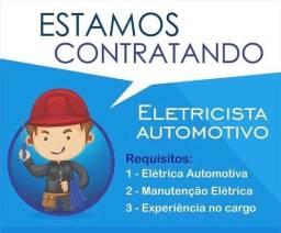 Eletricista Automotivo - vaga
