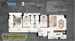 Título do anúncio: Apartamento nascente 3 Quartos, de 120 m2 no Setor Marista