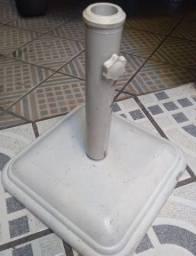 Base universal branca de concreto
