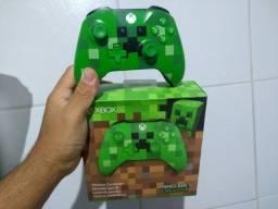Título do anúncio: Controle Xbox one Minecraft
