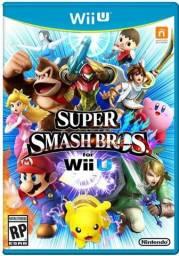 Jogo Super Smash Bros Wii U Usado