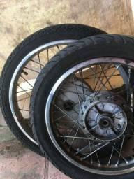 rodas da biz 125