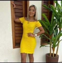 Lindo vestido ? lastex disponível em várias cores