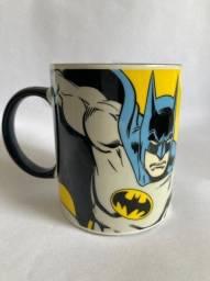 House Caneca Wb I'm Batman Amarelo/azul 300ml