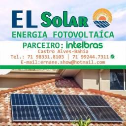 EL Energia Solar  95% de economia