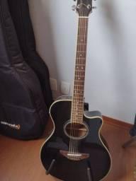 Violão eletroacústico Yamaha APX 700 BLACK