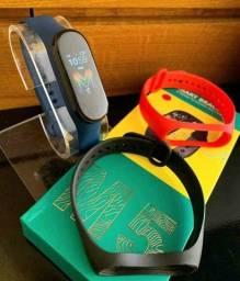 Smartband m5 monitoramento bracelete: calorias, pressão e batimentos