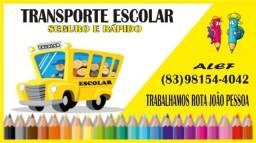 Transporte PROMOÇÃO PARA ALUNOS PERÍODO MANHÃ