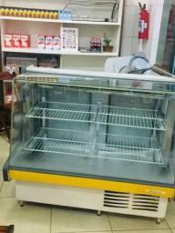 Título do anúncio: Balcão freezer, vitrine seca e fatiador de frios