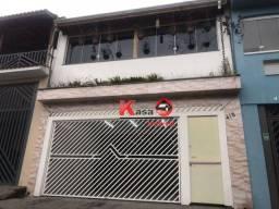 Título do anúncio: Sobrado com 4 dormitórios para alugar, 170 m² por R$ 4.500,00/mês - Jardim Patente Novo -