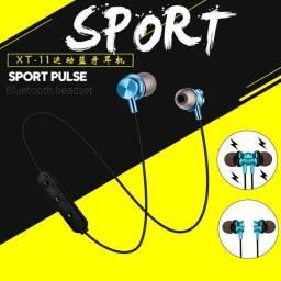Fone bluetooth ótimo para prática de esportes