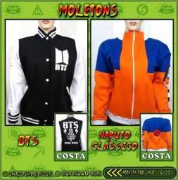 Moletons NerdDog Store - Kimetsu, Naruto, Resident Evil, Sailormoon, Panda, Totoro,