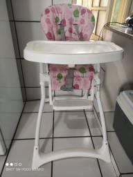 Título do anúncio: Vendo cadeira alimentação e berço desmontável portátil