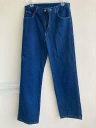 Calça jeans azul caneta tam 44