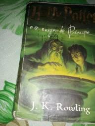 Livro Harry Potter e o enigma do Príncipe, mais um cd de brinde lacrado