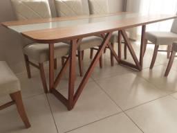Título do anúncio: Mesa de madeira 6 lugares nova