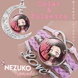 Pulseiras/ colar / kimetsu no yaba