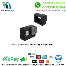969 - Capa Silicone Caixa Estanque Gopro Hero 5 6 7