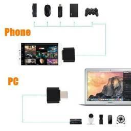 OTG Tipo C Para Usb 3.0 conecte seus dispositivos USB