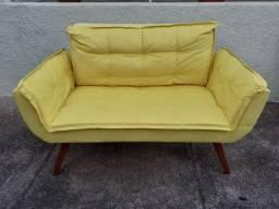 Poltrona sofá  decorativo 2 lugares