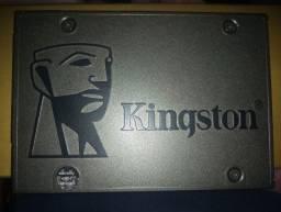 SSD Kingston 240GB formatado recentemente