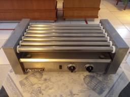 Salsicheira elétrica grelhador loop Roller Grill