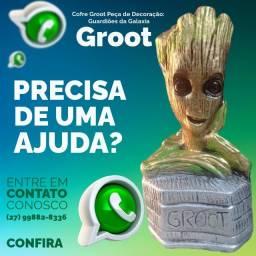 Título do anúncio: Cofre Groot Peça de Decoração: Guardiões da Galaxia!