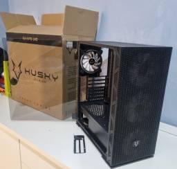 Título do anúncio: Gabinete Gamer Husky Polar, RGB, com FAN, Porta em Vidro Temperado - GA-HPO-140