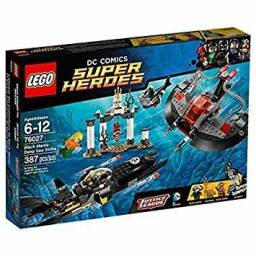 Lego super heroes 76027 black manta deep sea strike, novo