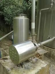 Bombas centrifugas, tubulações em aço inox 3
