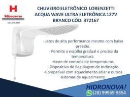 Chuveiro Lorenzetti Acqua Wave Ultra Eletrônica 127v Branco 372167