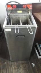 Fritadeira oléo agua Croydon industrial para restaurante