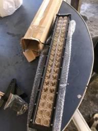 120w 55cm barra led farol auxiliar