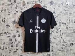 Camisa psg jordan 2018 aceito cartão camisas de time d138817be761a