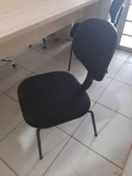 Cadeira secretaria fixa