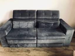 Sofá retrátil reclinável lindo!