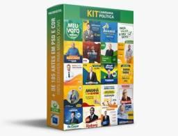 Pack CAMPANHA POLÍTICA 2020 + de 90 Arquivos Editáveis