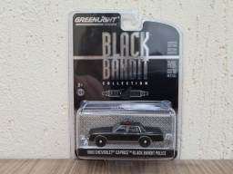 Greenlight Black Bandit 1980 Chevrolet Caprice Police 1:64