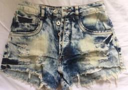 Short jeans conservado