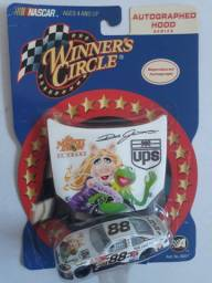 Nascar hot wheels muppets