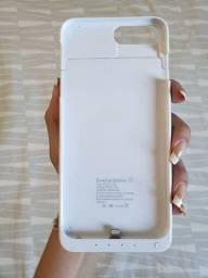 Capa case carregador portátil iPhone