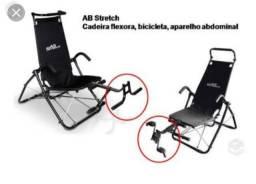 Cadeira Ab Stretch Semi Nova