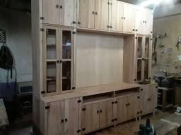 JB Móveis em madeira maciça ou MDF