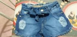 Shorts jeans novos !